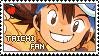 Stamp: Taichi fan