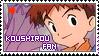 Stamp: Koushirou fan by larabytesU