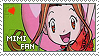 Stamp: Mimi fan by larabytesU
