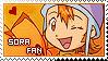 Stamp: Sora fan by larabytesU