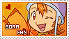Stamp: Sora fan by larabytesU