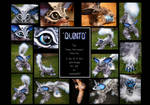 ----SOLD----- 'Quinto' the OOAK art doll!