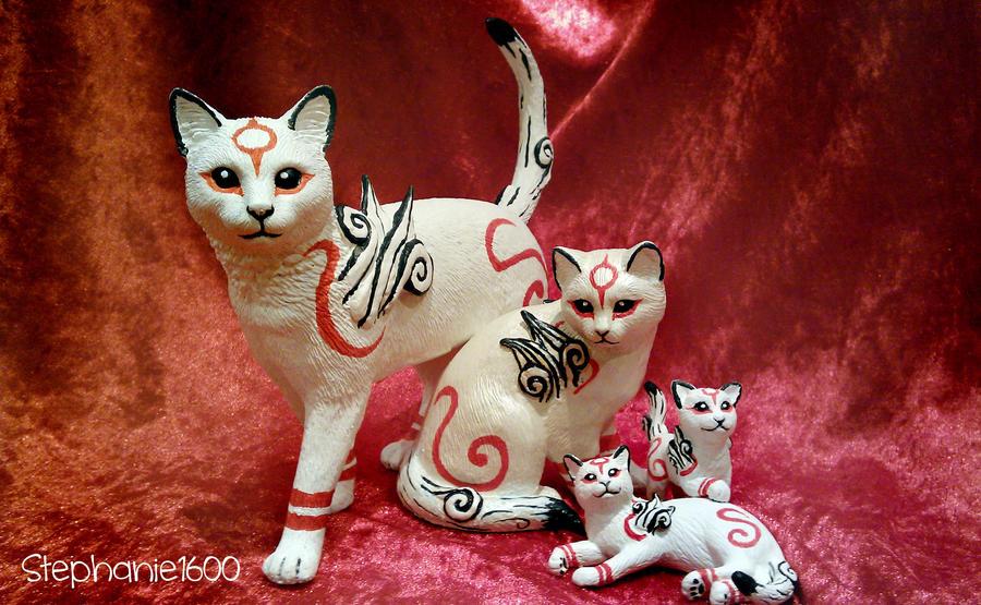*SOLD*  'Kabegami' ornaments by stephanie1600