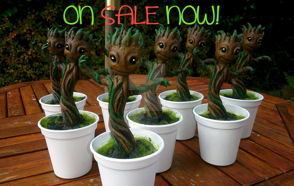 Made To Order Baby Groot Figures From Gotg By Stephanie1600 On