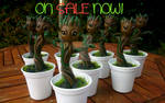 MADE TO ORDER Baby Groot figures from GOTG