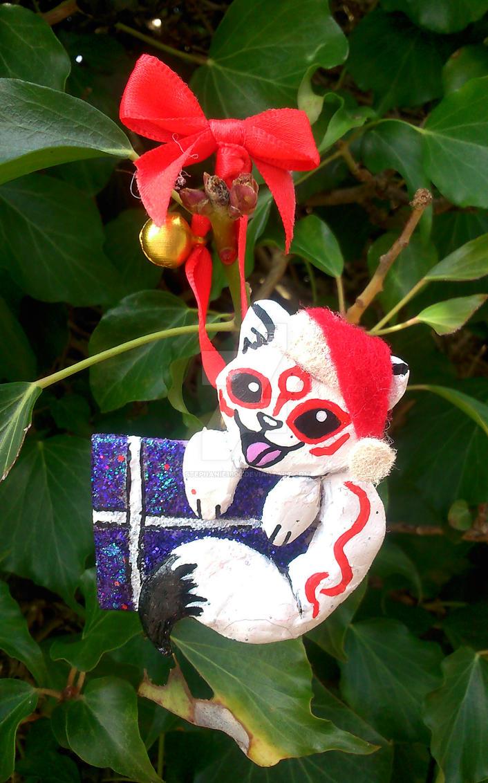 FOR SALE Okami Christmas Tree Decoration by stephanie1600