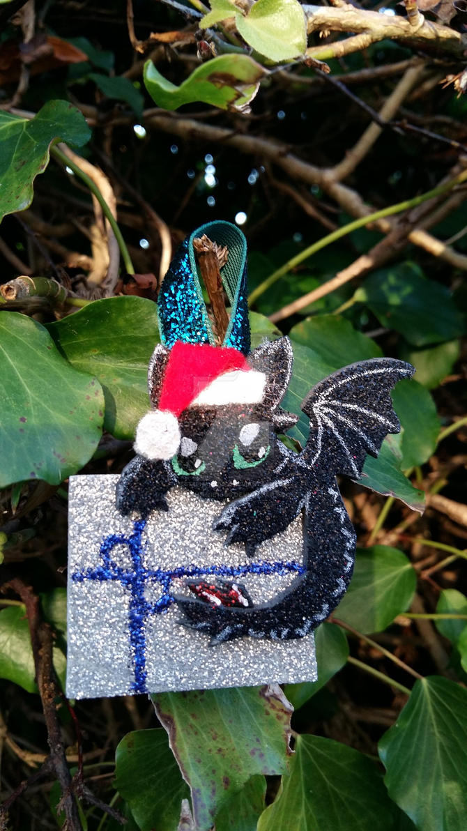 Toothless christmas decorations FOR SALE by stephanie1600