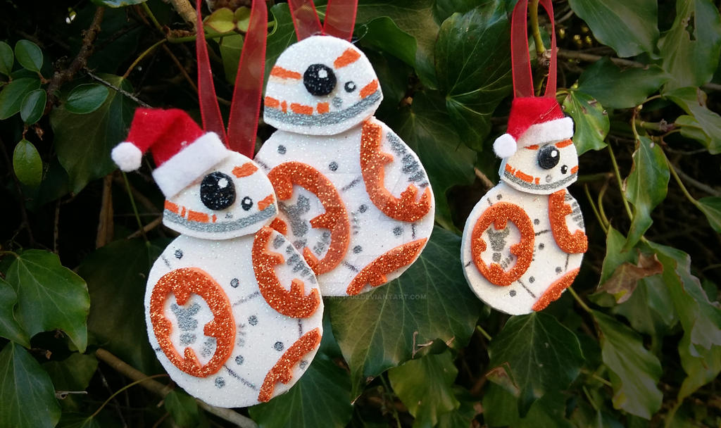 bb8 star wars christmas decorations for sale by stephanie1600