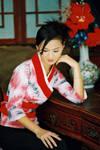 Geisha's figure