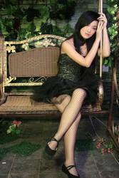 black swan's girl II by angelcurioso