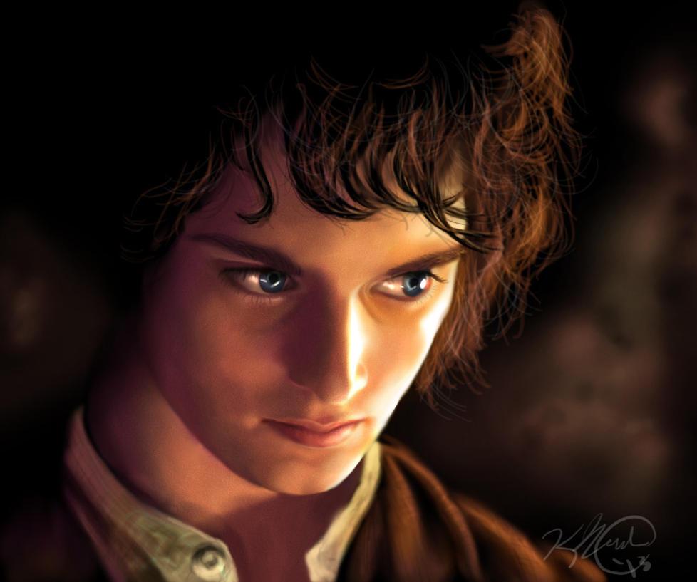Frodo baggins by kiendriel on deviantart for Pics of frodo baggins
