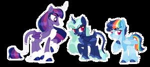 Jock and nerd but make it lesbian horses