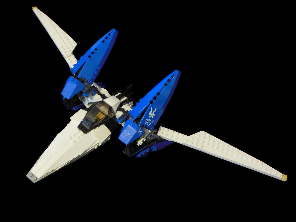 Lego Arwing 1 by archus7