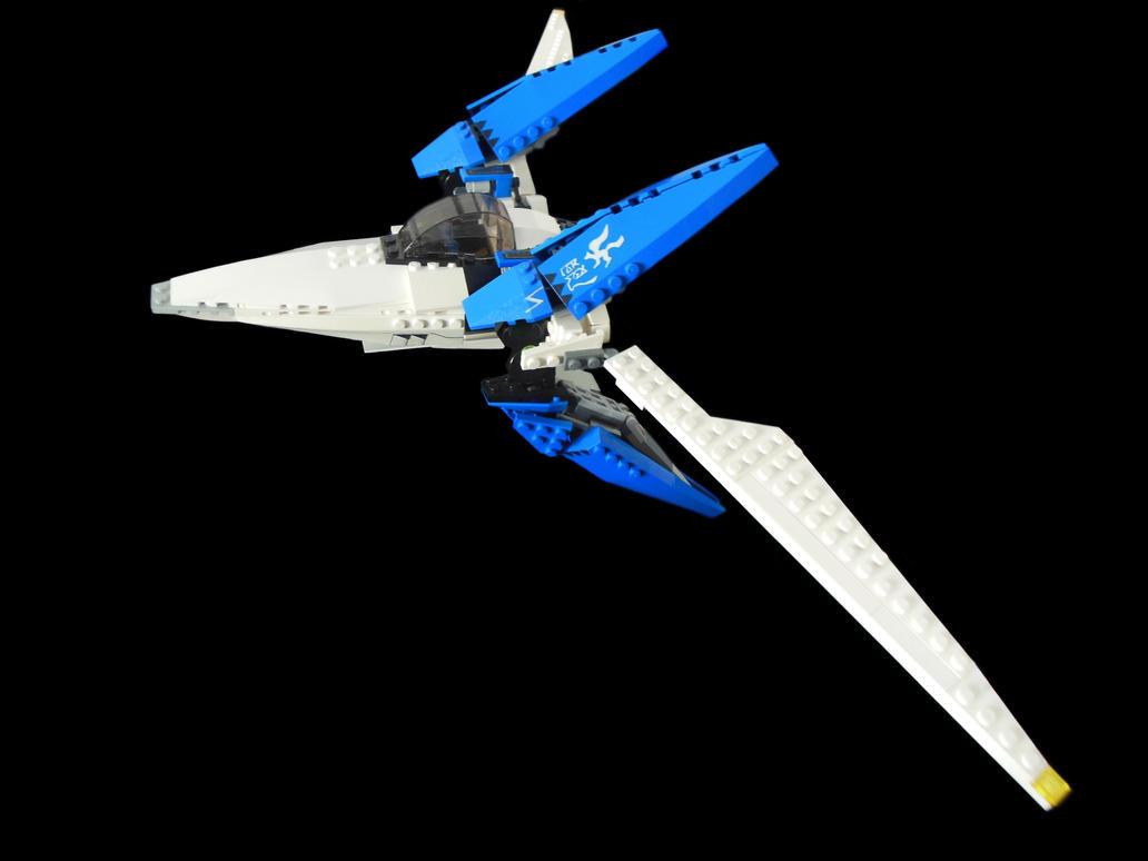 Lego Arwing 2 by archus7