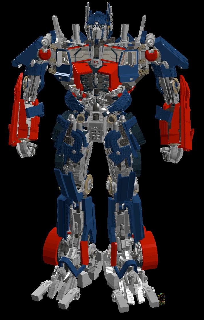 Lego Optimus Prime by archus7 on DeviantArt