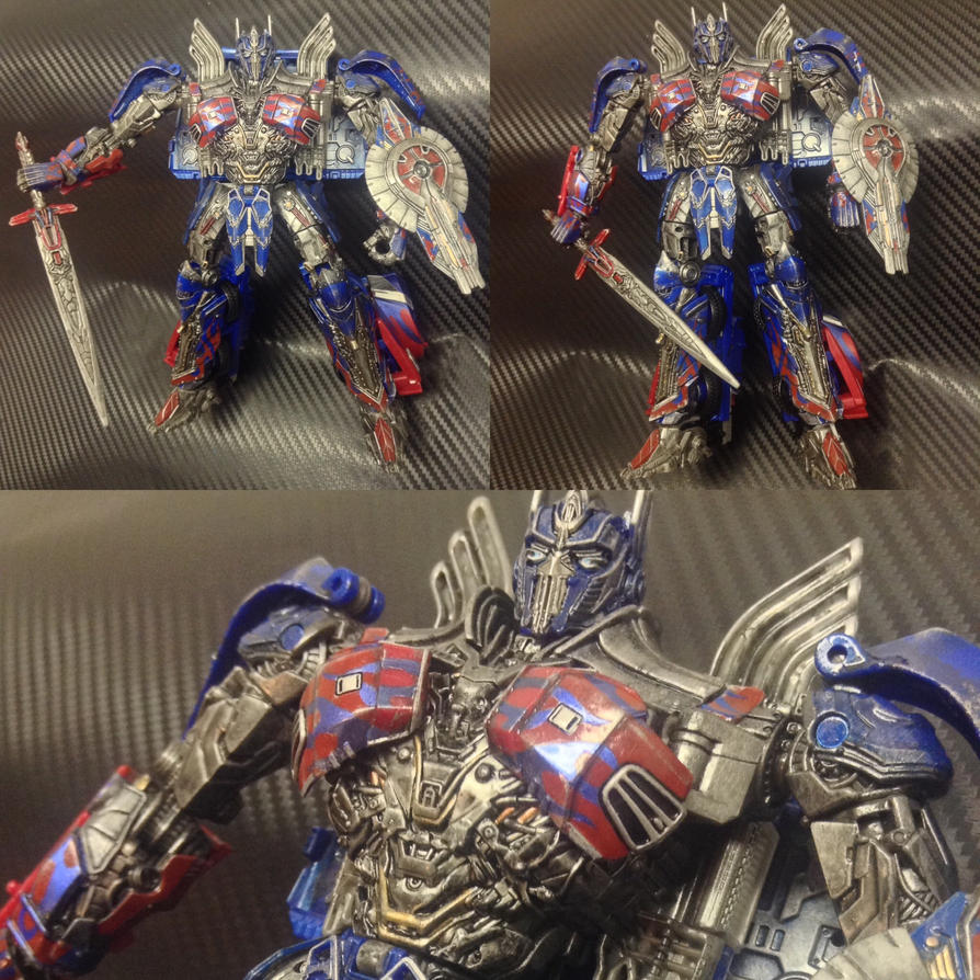 TLK custom voyager Optimus Prime by archus7