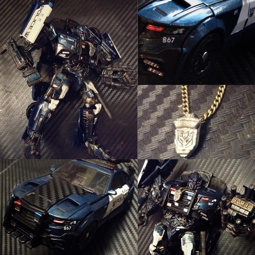 Custom Transformers TLK Barricade by archus7