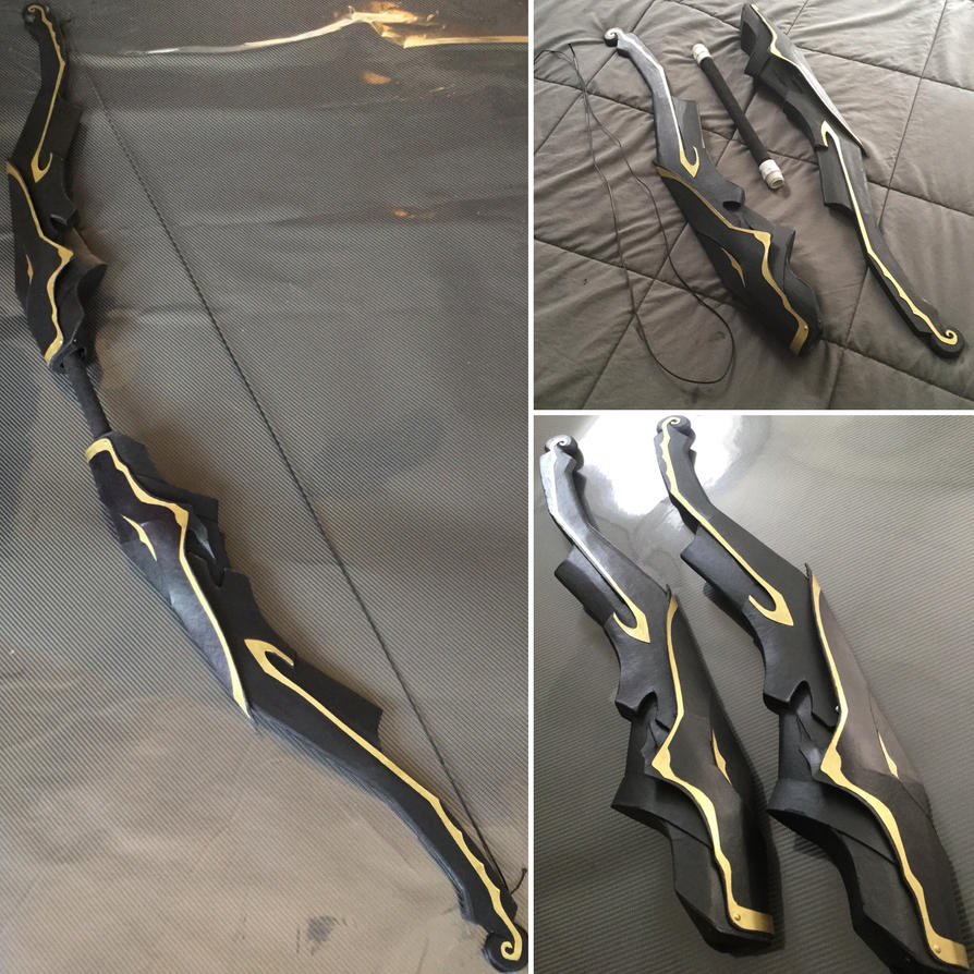 Fate Apocrypha Archer of Red cosplay bow replica by archus7