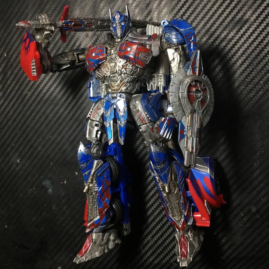 Custom Transformers The Last Knight Optimus Prime by ...