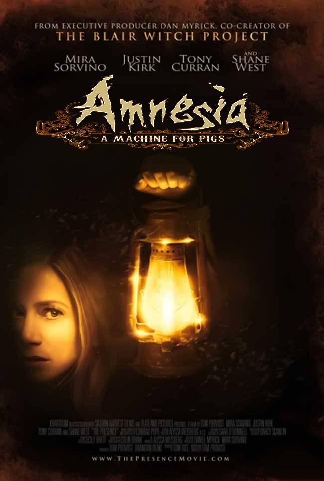 how to start machine in amnesia