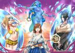 Final Fantasy X girls