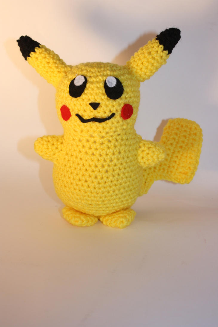 Crochet Pattern For Pikachu : Crochet Pikachu Amigurumi by DunnWithLove on deviantART