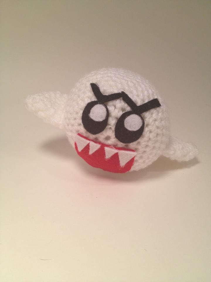 Crochet Boo Plush by DunnWithLove