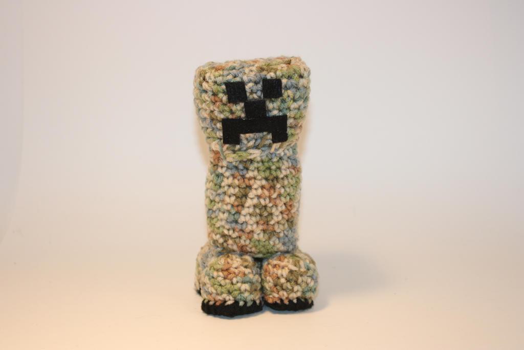 Minecraft Creeper Crochet Amigurumi by DunnWithLove on ...