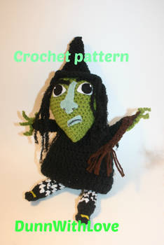 Amigurumi crochet witch pattern | The Sun and the Turtle | 350x234