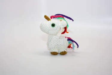 Sparkly Rainbow Unicorn