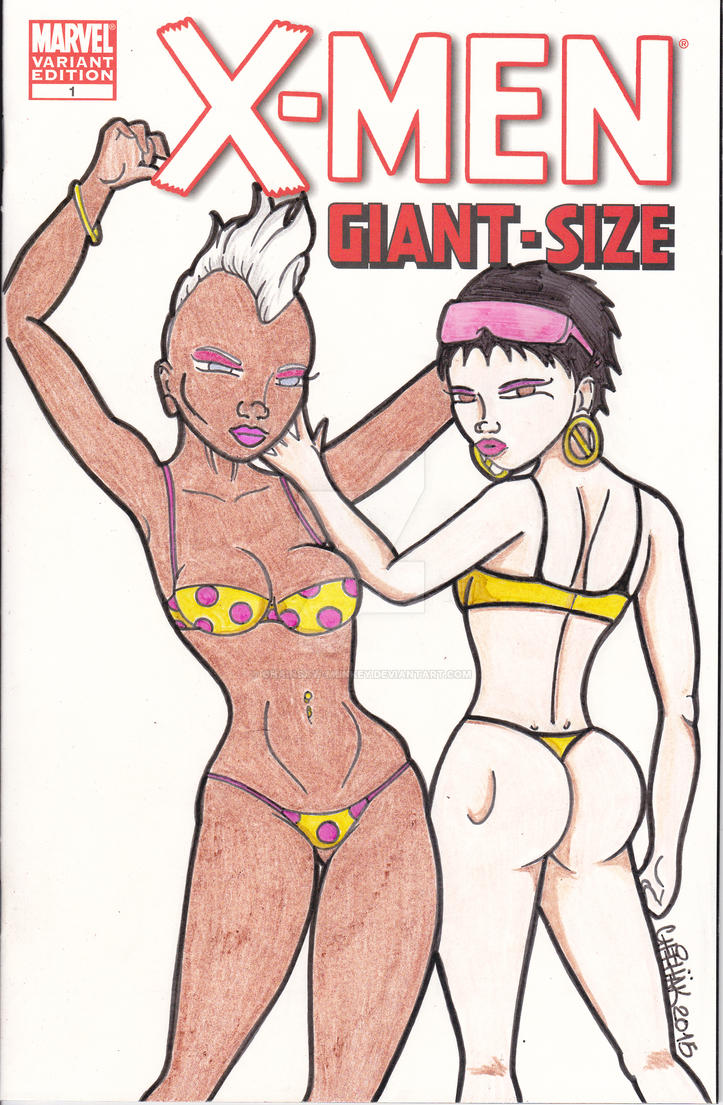 Storm and Jubilee X-Men Giant Size by Chainsaw-Munkey