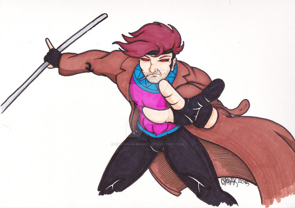 Gambit commission by Chainsaw-Munkey