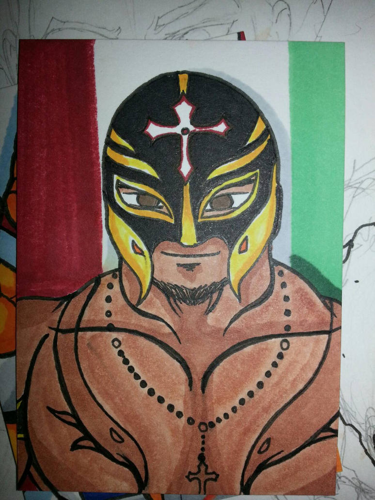 Rey Mysterio  by Chainsaw-Munkey