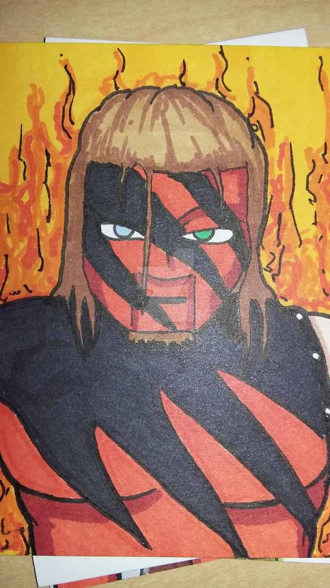 Original Kane sketch card by Chainsaw-Munkey