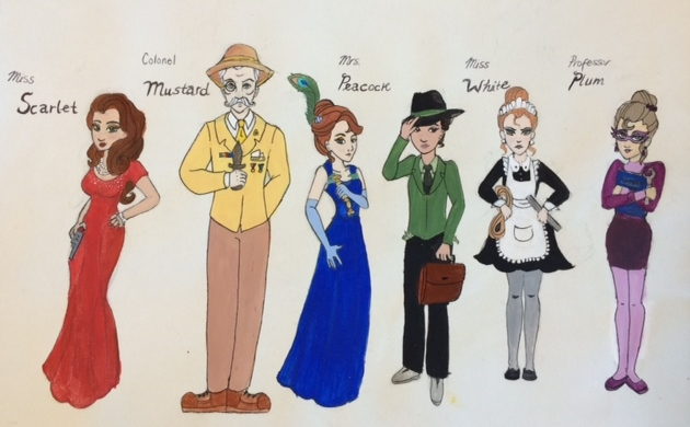 clue characters by thefreckledleaf on deviantart paintbrush clip art for preschool paintbrush clip art for word