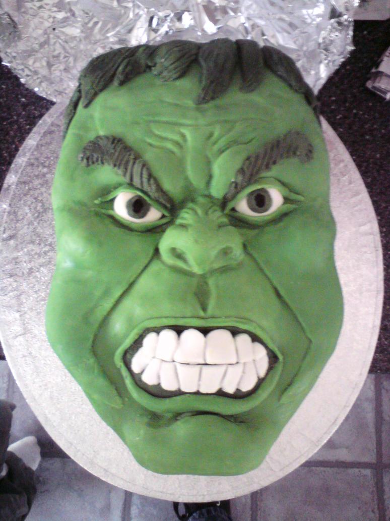 Hulk Cake By Sugartreece123 On Deviantart