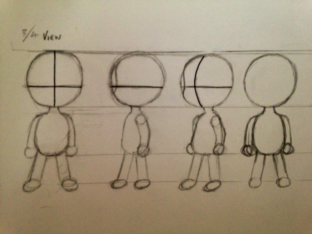 Boy Chibi Template - #sketchaday #dailydoodle by ...