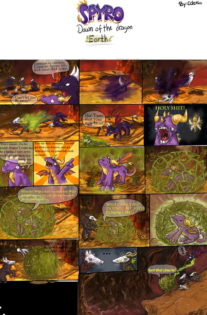 Spyro earth by snugglemonkey