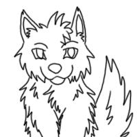 Icon wolf-animated-COMMENT by Rashirou