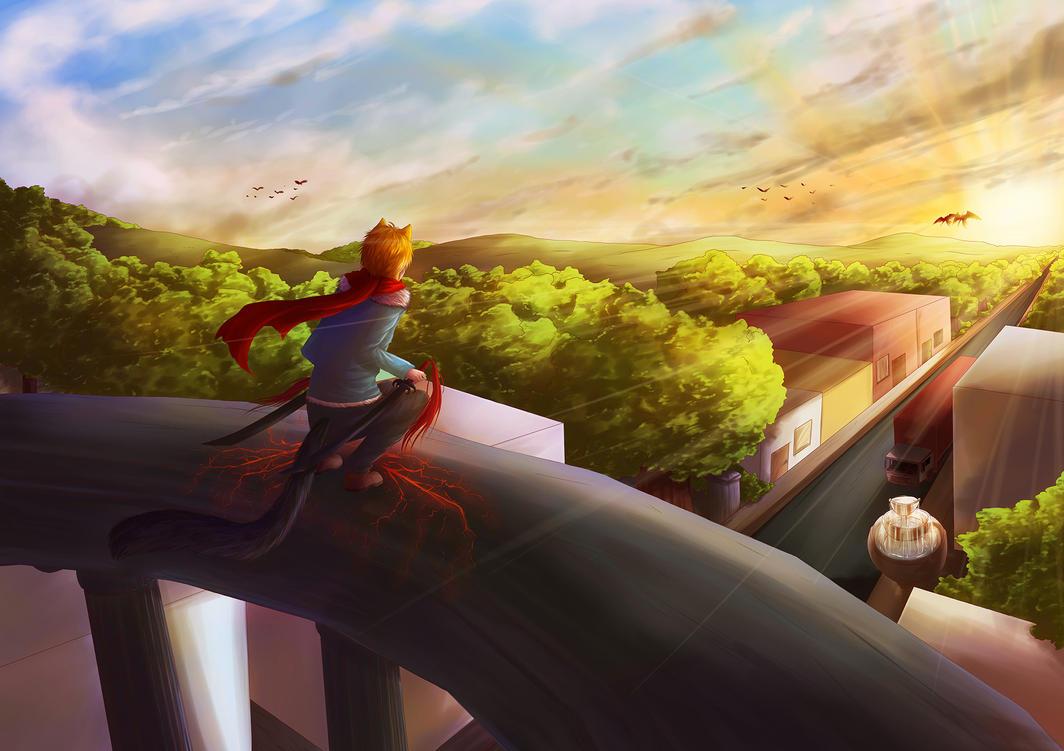 The Sunrise by Rashirou