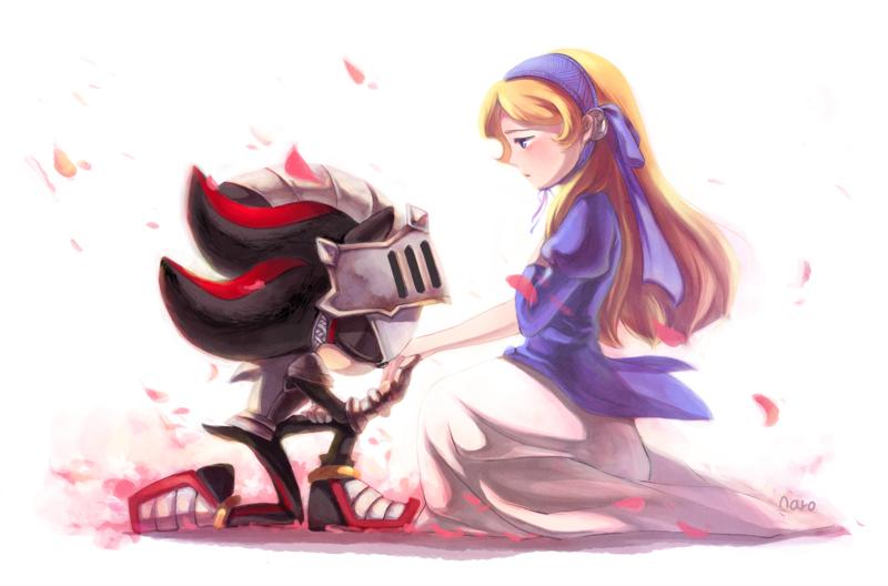 Knight and lady by catnaro