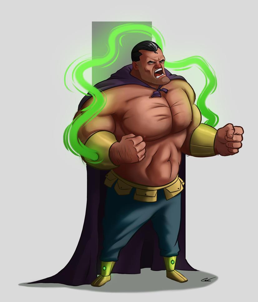 Superhero Character Design by ThijsRozema
