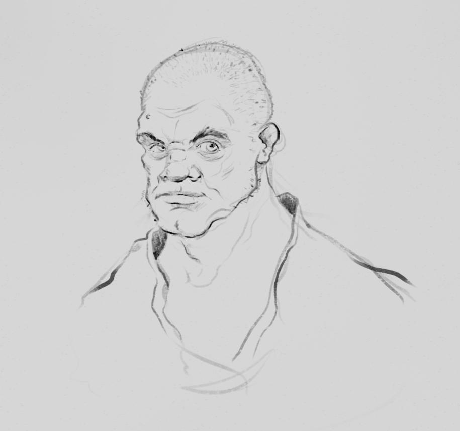Digital sketch by ThijsRozema