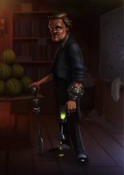 Mad Scientist by ThijsRozema