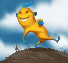Happy Dude by ThijsRozema