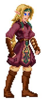 Staff of Gamelon - Zelda (Sprite test)