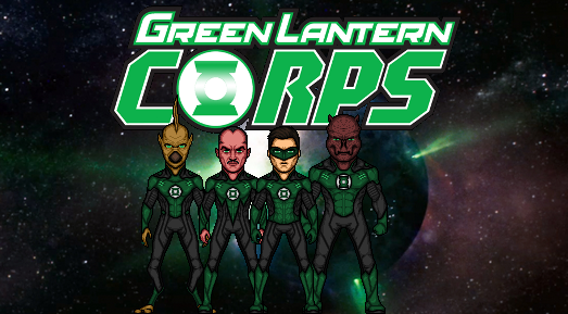 Green Lantern Corps (DCEU) by TheNightDestroyer
