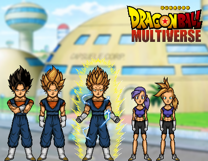 Dragon Ball Multiverse - Universe 16 by TheNightDestroyer