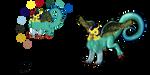 Burageon Adopt: Yellow-Cyan by Beagon