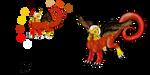 Burageon Adopt: Yellow-Brown by Beagon